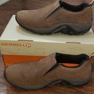 Women's Merrell waterproof leather jungle moc